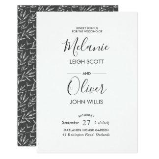 O vintage monótonos sae do convite do casamento