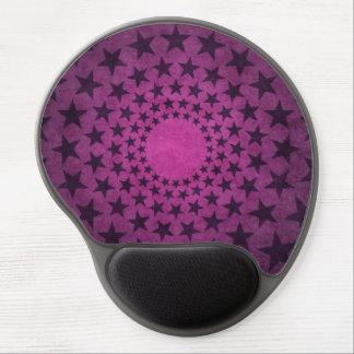 o vintage roxo circunda a arte abstracta das mousepad de gel