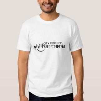 O violino dos homens/a camisa de Philharmonia T-shirts