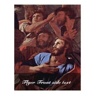 O Virgin apareceu a St James detalhou, Modelo De Panfleto