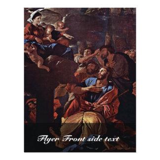 O Virgin apareceu a St James, por Nicolas Panfletos Coloridos