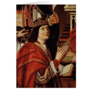 O Virgin dos reis católicos Cartão