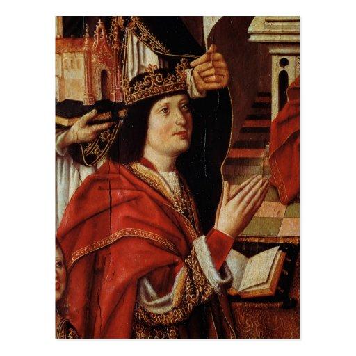 O Virgin dos reis católicos Cartão Postal