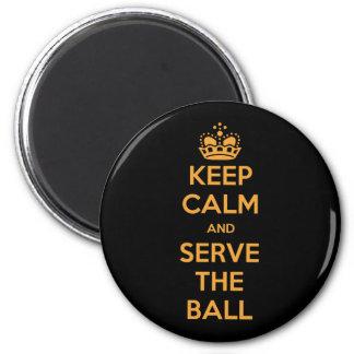 O voleibol mantem a calma e… ima