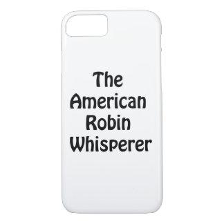 o whisperer americano do pisco de peito vermelho capa iPhone 8/ 7