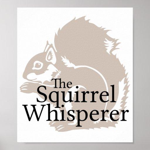 O Whisperer do esquilo Posteres