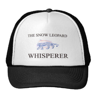 O Whisperer do leopardo de neve Boné