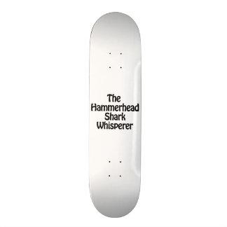 o whisperer do tubarão de hammerhead shape de skate 20cm