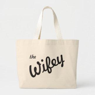 O Wifey Bolsa Para Compras