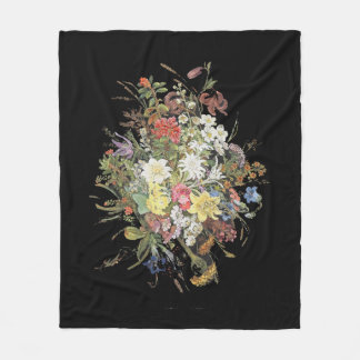 O Wildflower alpino floresce a cobertura do velo Cobertor De Velo