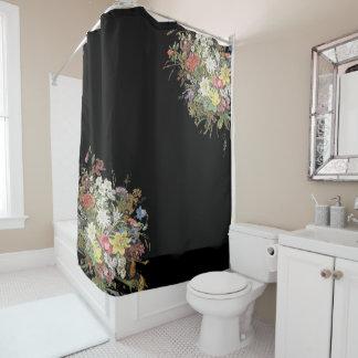 O Wildflower alpino floresce a cortina de chá Cortina Para Box