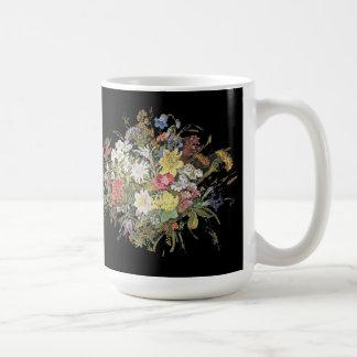 O Wildflower dos cumes floresce a caneca floral do