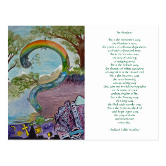 O Wonderer - por Ruth Calder Murphy - cartão