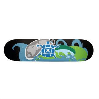 O X-conselho II Shape De Skate 18,4cm