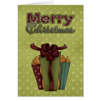O Xmas da coleção do Natal apresenta o cartão