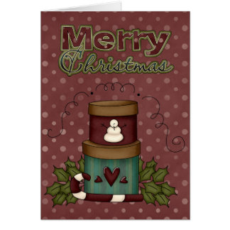 O Xmas da coleção do Natal encaixota o cartão