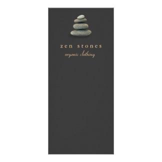 O zen novo da idade apedreja artes curas panfleto informativo personalizado
