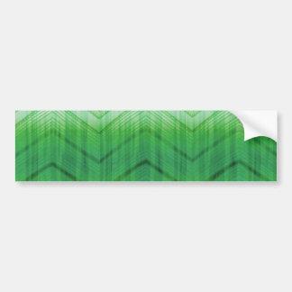O ziguezague feminino verde na moda listra o teste adesivo