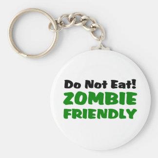 O zombi amigável não come chaveiro