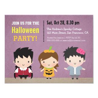 O zombi da abóbora do vampiro caçoa o partido do convite personalizado