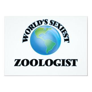 """O Zoologist o mais """"sexy"""" do mundo Convites Personalizados"""