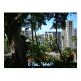 O'ahu, cartão de Havaí