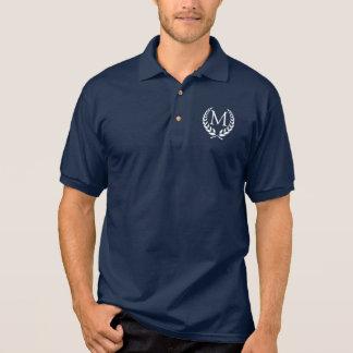 OB envolveu o monograma Camisa Polo