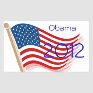 Obama 2012 adesivos