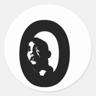 Obama Adesivos Em Formato Redondos