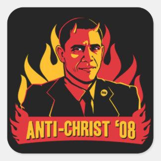 Obama Adesivo Quadrado