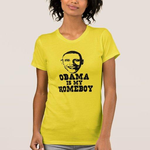 OBAMA é meu Homeboy. T-shirt