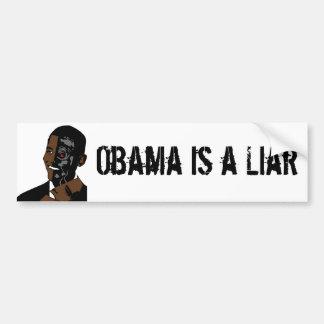 obama é um mentiroso adesivo para carro