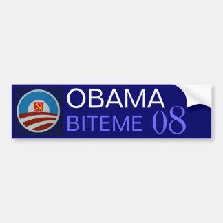 Obama-logo-712332, foice do martelo, OBAMA, BITEME Adesivo Para Carro