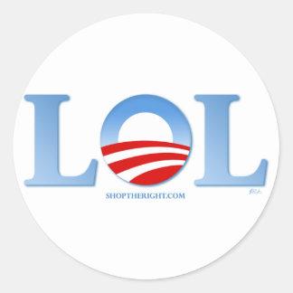 Obama LOL Adesivos