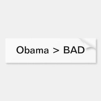 Obama > MAU Adesivo Para Carro