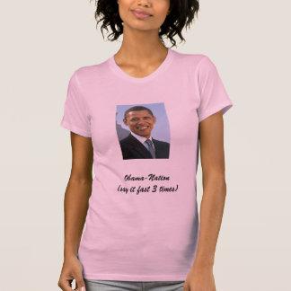 Obama-Nação T-shirt