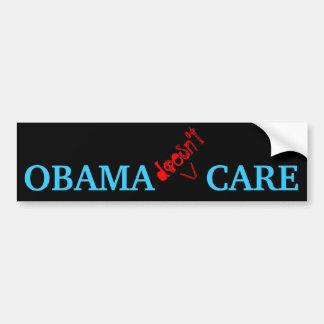 Obama não se importa adesivo para carro