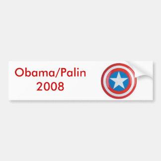 Obama/Palin 2008 Adesivo Para Carro