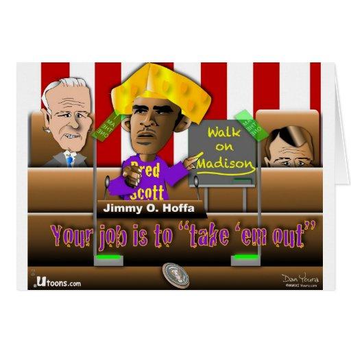 Obama salvar a união cartoes