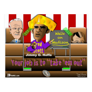 Obama salvar a união cartão postal
