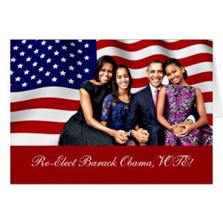 Obama, sim nós Can_ Cartão De Nota