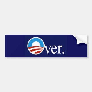 Obama sobre adesivo para carro