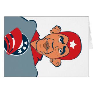 Obama super cartão comemorativo
