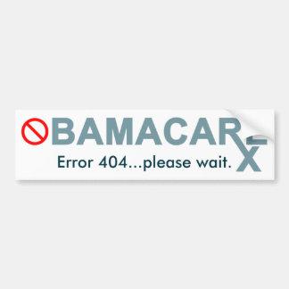 Obamacare: O erro 404… espera por favor Adesivos