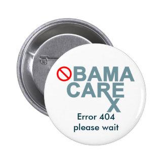 Obamacare:  O erro 404… espera por favor Pins