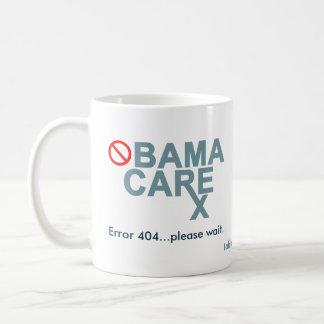Obamacare:  O erro 404… espera por favor Caneca