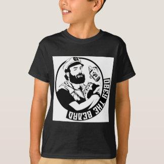 Obedeça a barba camiseta