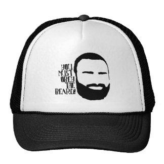 Obedeça a barba boné