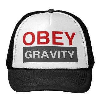 Obedeça a gravidade boné