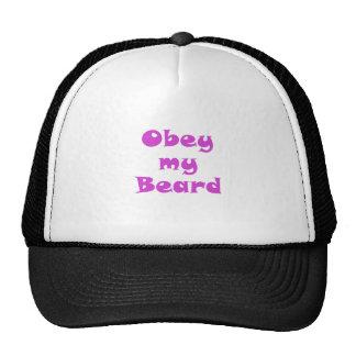 Obedeça minha barba bone